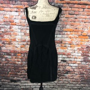 Intimately Free People black tank mini dress sz M